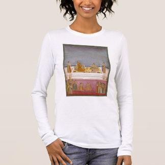 Le jeune empereur de Mughal Muhammad Shah à un T-shirt À Manches Longues