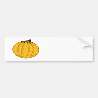 Le jGibney Pumpkin7tc100 de série d'artiste de MUS Autocollant De Voiture