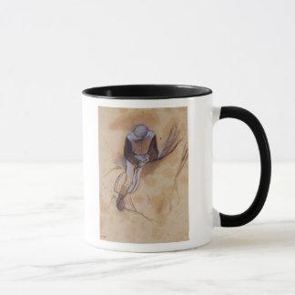 Le jockey d'Edgar Degas | a fléchi la position en Tasses