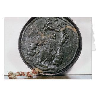 Le joint du Roi Charles II Carte De Vœux