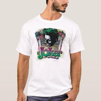 Le joker - visage et logo t-shirt