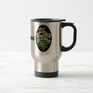 Le joli edelweiss fleurit la coutume mugs