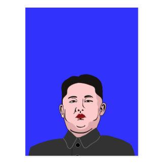 Le Jong-ONU flegmatique de Kim Carte Postale