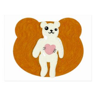 Le jouet bourré de l'ours cartes postales