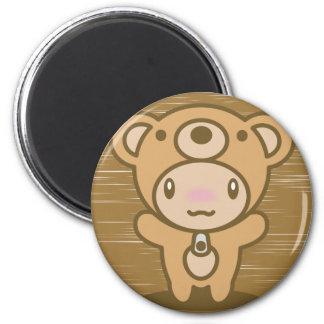 Le jouet bourré de l'ours magnets