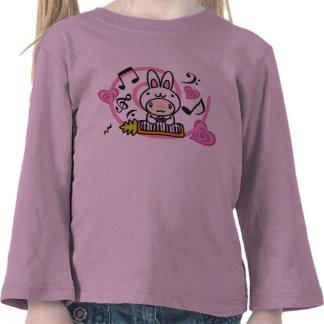 Le jouet bourré du lapin t-shirts