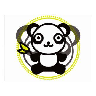 Le jouet bourré du panda cartes postales