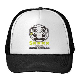 Le jouet bourré du panda casquette