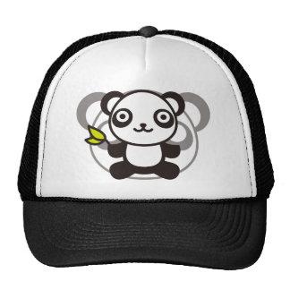 Le jouet bourré du panda casquettes