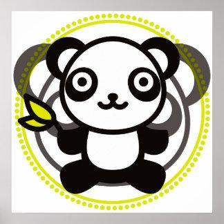 Le jouet bourré du panda posters