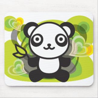 Le jouet bourré du panda tapis de souris