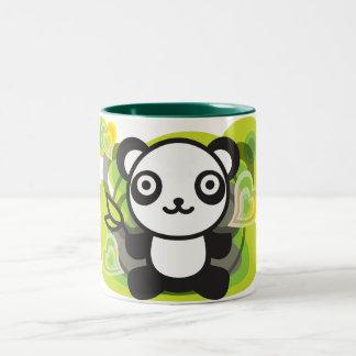 Le jouet bourré du panda tasse à café