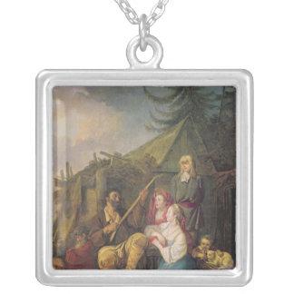 Le joueur de balalaïka, 1764 pendentif carré