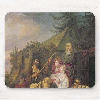 Le joueur de balalaïka, 1764 tapis de souris