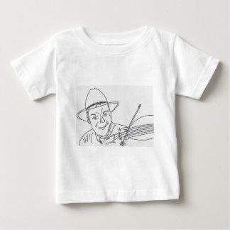 LE JOUEUR DE MUSIQUE COUNTRY.jpg T-shirt Pour Bébé