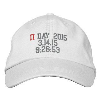 Le jour 2015 de pi a personnalisé le casquette casquette brodée