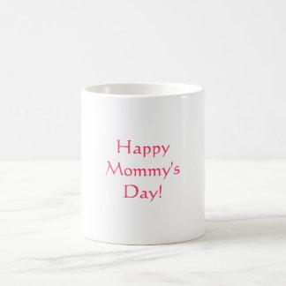 Le jour de la maman heureuse ! , mug blanc