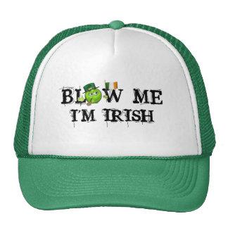 le Jour de la Saint Patrick irlandais vert d'emoji Casquette Trucker