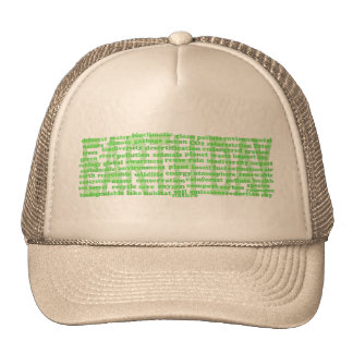 Le jour de la terre exprime le chapeau casquettes