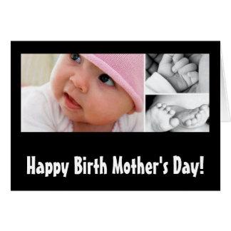 Le jour de mère biologique heureux ! cartes de vœux