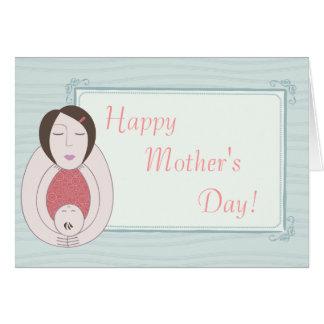 Le jour de mère heureux ! cartes de vœux