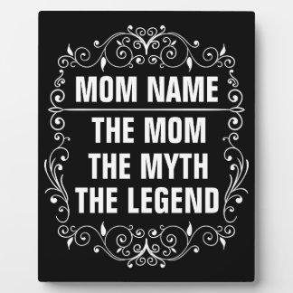 Le jour de mère heureux de maman photos sur plaques