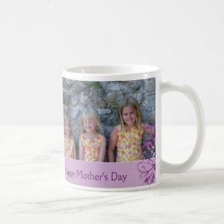 Le jour de mère heureux mug blanc