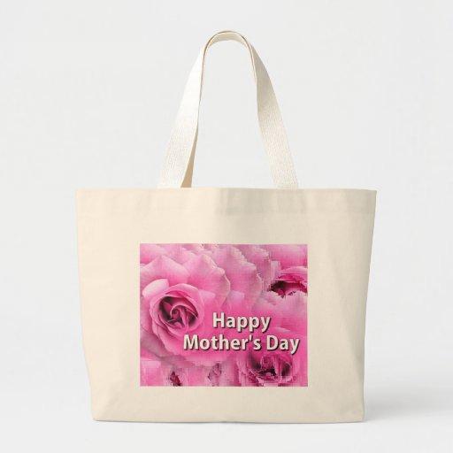 Le jour de mère heureux sac en toile
