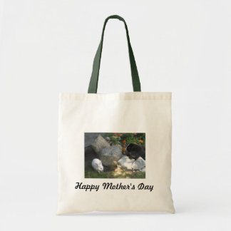 Le jour de mère heureux sac de toile
