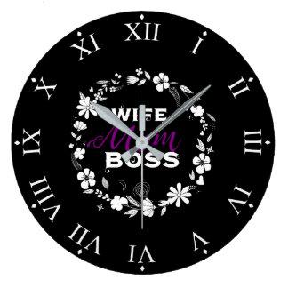 Le jour de mère : Horloge de femmes de la Reine de