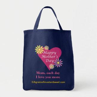 Le jour de mère sac fourre-tout
