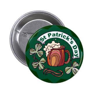 Le jour de St Patrick Badges