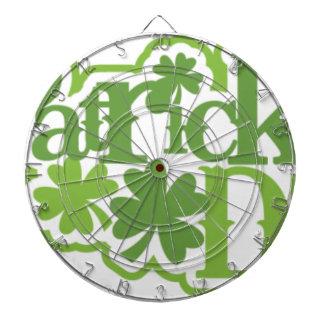Le jour de St Patrick, conception d'Irlandais de Jeux De Fléchettes