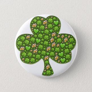 Le jour de St Patrick de bière de trèfle de Pin's