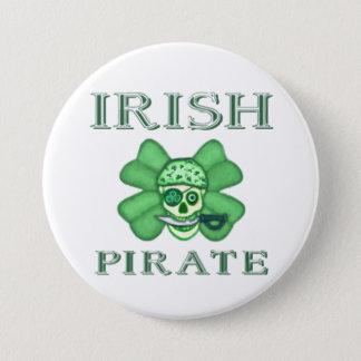 Le jour de St Patrick d'Irlandais pirate le bouton Badge