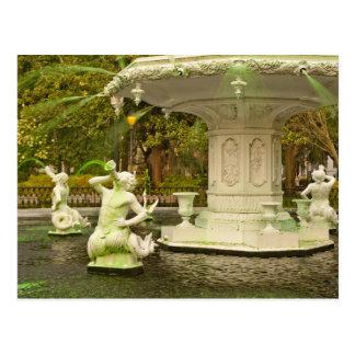Le jour de St Patrick - fontaine de Forsyth, la Carte Postale