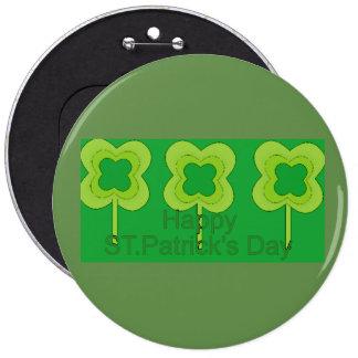 le jour de St Patrick heureux Badge