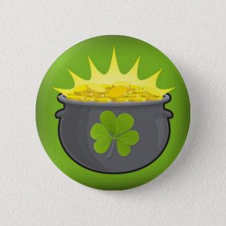 Le jour de St Patrick heureux ! Badge