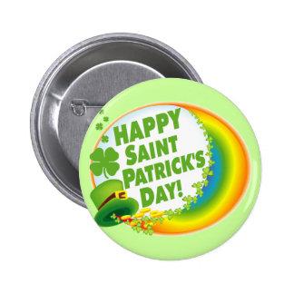 Le jour de St Patrick heureux ! Badges