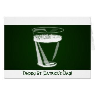Le jour de St Patrick heureux ! Cartes