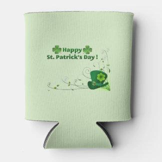 Le jour de St Patrick heureux peut glacière