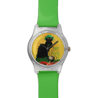 Le jour de St Patrick - Le Lucky Chat Montres
