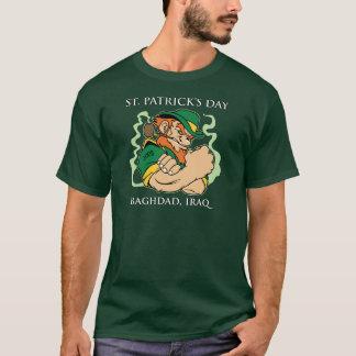 Le jour de St Patrick - T-shirt de Bagdad, Irak