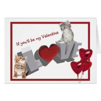 Le jour de Valentines de Purrfect soit ma 2ème Carte De Vœux