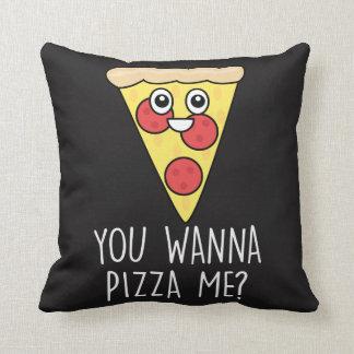 Le jour de Valentines 'me veulent à la pizza ? Oreiller
