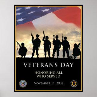 Le jour de vétéran 2008 poster