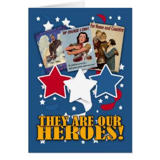 le jour de vétéran - le Jour du Souvenir vous Carte De Vœux