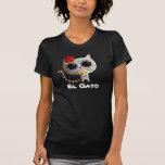 Le jour du chat mignon mort t-shirts