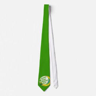 Le jour heureux de Patrick de saint ! Cravate Personnalisée