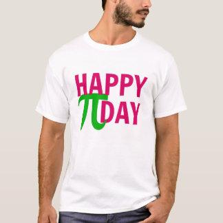 Le jour heureux de pi ne sont pas T-shirt